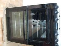 Zanussi double oven and hob