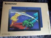 Lenovo tablet in white brand new