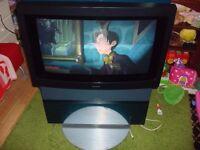 Bang & Olufsen revolving television