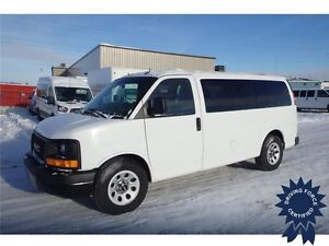 2013 GMC Savana SL 8 Passenger All Wheel Drive, 82,406 KMs, 5.3L
