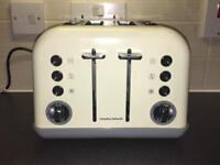 Morphy Richards Cream Dual toaster
