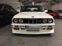 BMW E30 M3 CONVERTIBLE 325I PROJECT REPLICA LHD M TECH
