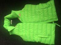 Hollister line green Bodywarmer gilet size m