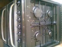 Urgent sale Four nob gas cooker with grill & oven in excellent condition