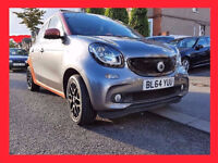 2015 Smart ForFoure 1.0 --- Low 15000 Miles --- Navigation -- Sporty Orange interior - Smart ForFour