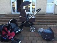 iCandy Peach Travel System - Excellent Condition