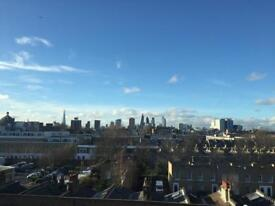 Great flat/ double room with views in Limehouse