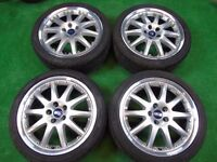 """FORD MONDEO, GALAXY, FOCUS, TRANSIT CONNECT, C-MAX, S-MAX 18"""" inch ALLOY WHEELS"""