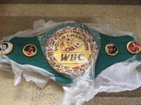 ROBERTO DURAN WBC WORLD TITLE BELT