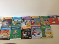 11 hardback learning to read books