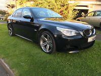 2006 56 BMW E60 M5 Black Fully Loaded 5.0 V10 SMG HPI Clear