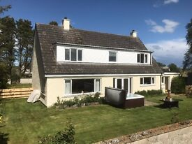 Large 5 bed Detached House with land FOR SALE, near Tain. Newly Refurbished, Viewing Recommended!