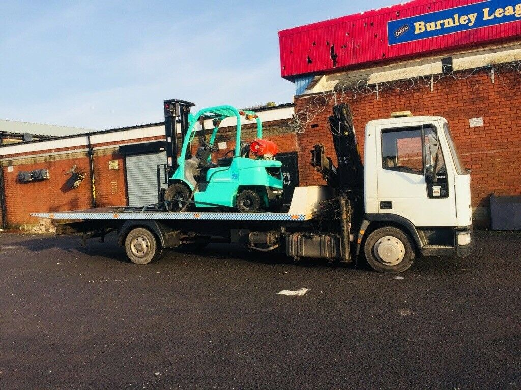 Iveco recovery tilt & slide accident unit 21ft body 4 ton hiab marker lights offers px ring number