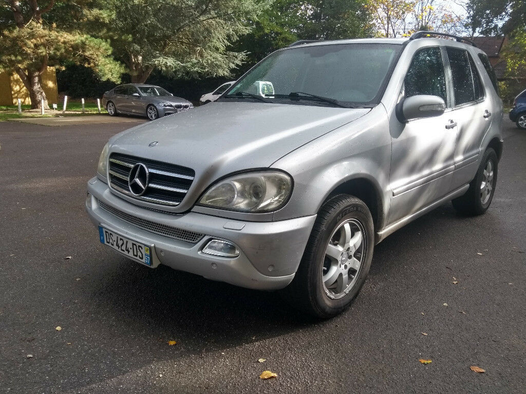 ed299b7910 LHD MERCEDES BENZ ML400 DIESEL LEFT HAND DRIVE FRENCH PLATES SH M CLASS ML  GLE