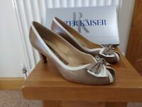 2 pairs size 7 1/2 quality shoes. 1 pair evening shoes size 8