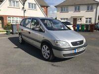 Vauxhall Zafira 7 Seater 1.6, Nice family car