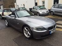 BMW Z4 CONVERTIBLE M SPORT 2.0 MANUAL GREY FULL SERVICE HISTORY LOW MILEAGE LEATHER MINT HPI CLEAR