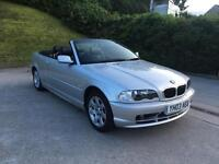 **AUTOMATIC+CONVERTIBLE+BMW 320 CI AUTO 2.0 PETROL 3 DOOR CONVERTIBLE (2003 YEAR)**