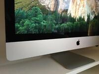 "Apple iMac Late 2015 27"" with Retina 5K Display, 3.2GHz Intel i5, 32GB RAM, 256GB SSD + Apple Care"