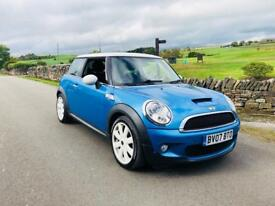 2007 MINI COOPER S 1.6 SUPERCHARGED MONTE CARLO BLUE