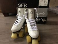 SFR roller boots. Only used a couple of times so in great condition
