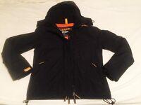 Superdry Womens Black Coat *RRP £70*