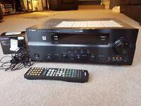 Yamaha AV Amplifier/Receiver Model AX-863SE in Black