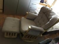 Baby Feeding rocking chair