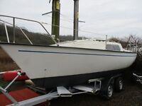 jaguar 21 trailer sailer