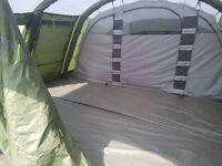 Outwell corvette xl air tent 7 man