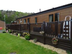 3 BEDROOM FULLY FURNISHED LUXURY LODGE FOR SALE NEAR DUNBAR