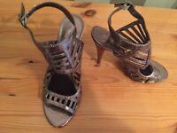 Ladies Bronze Aldo shoes Size 5