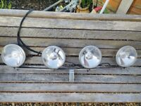Classic Mini works style lamps with bar kit