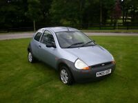 2005 Ford KA 1.3 Petrol BLUE - FULL MOT. MINT VERY ECONOMICAL, LOW MILEAGE Not Fiesta/Corsa/Clio