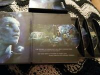 Blu Ray 3 Disc extended collectors edition AVATAR!