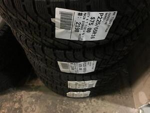 225/65/16 Goodyear Nordic *Winter Tires*