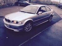 Excellent condition. BMW 320ci. Coupe. M sport. 2002. £2000
