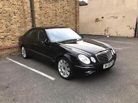 Mercedes E280 CDI Sport 2008 3.0 Black only £5499