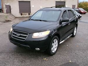 2007 Hyundai Santa Fe GLS, leather and sunroof, 4X4, accident-fr