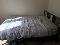 Large Double bed for sale including mattress!