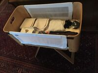 NCT Bednest Cot/Crib & accessories - Great quality and lovely piece of design