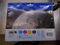 Brand new unopened Brother LC1000 ink cartridge's