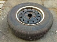 Ford Escort steel wheel 185 70 13 tyre