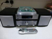 HITACHI AX-M66 MICRO HI-FI SYSTEM TUNER CD PLAYER