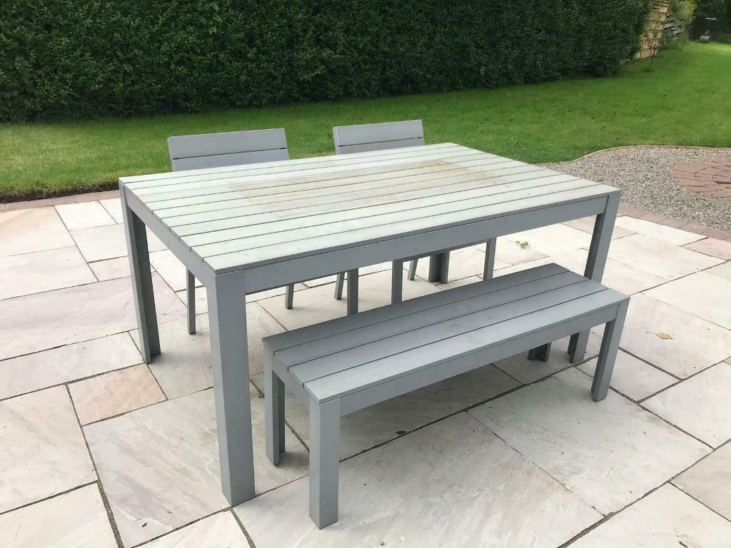 Brilliant Ikea Garden Table Chairs And Bench Reduced In Tadcaster North Yorkshire Gumtree Creativecarmelina Interior Chair Design Creativecarmelinacom