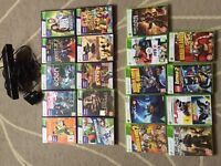 Kinect XBOX 360 +19 games