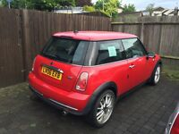 Mini One 1.6, MOT til September 2017, great condition inside and out