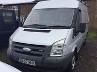 57 , 2007 FORD TRANSIT MEDIUM W BASE SEMI HIGHTOP SIDE DOOR CAME IN PX TODAY SOLD AS SEEN MOT PX WRL