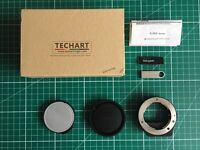 TECHART TA-GA3 - CONTAX G TO SONY E / FE - BOXED - A7 A7R A7S A7II A7RII A7SII