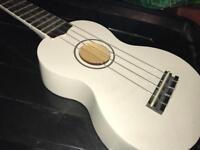 White ukulele